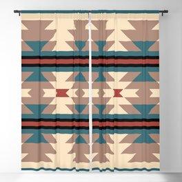 Southwestern Pattern 126 Blackout Curtain