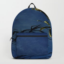 Nature and greenery 14 with reed Backpack