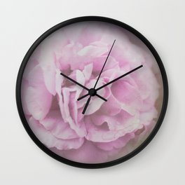 Lavender Ethereal Rose Wall Clock