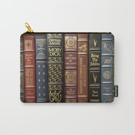 Bibliophile Carry-All Pouch