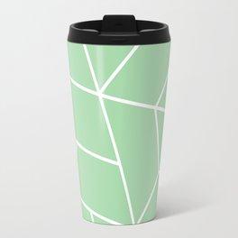 Geo Pattern Seafoam Travel Mug
