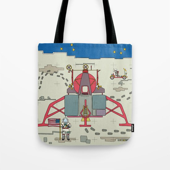 Moon Lem 1969 Tote Bag