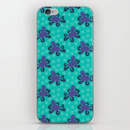 Darien the Hipster Octopus! iPhone Skin
