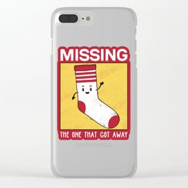 The One That Got Away Clear iPhone Case