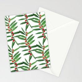 Christmas Botanical Stationery Cards