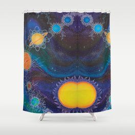Spacial Relations Shower Curtain