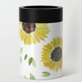 Sunflowers Can Cooler