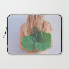 The Language of Love, Woman with Plants Laptop Sleeve