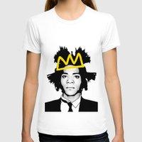 basquiat T-shirts featuring BASQUIAT YELLOW by SebinLondon