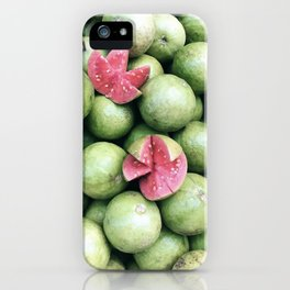 pink guava iPhone Case