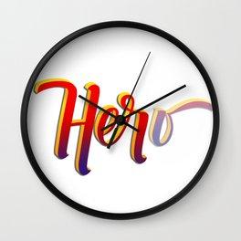 HER-o Wall Clock