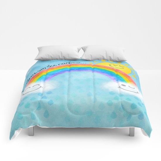 Somewhere over the rainbow... Comforters