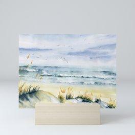 Beach is Calling Mini Art Print