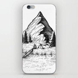 Camping Island iPhone Skin