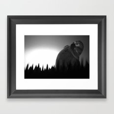 La Traque Framed Art Print