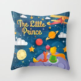 What Is Essential Is Invisible To The Eye Throw Pillow