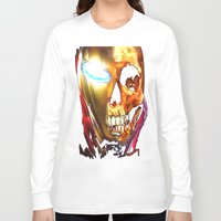 iron man Long Sleeve T-shirts featuring Iron Man by Isaak_Rodriguez