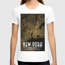 New York City Poster T-shirt