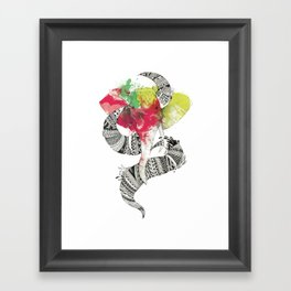 Art'lephant. Framed Art Print