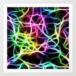 Neurons Cell Healthy Art Print