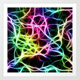 Neurons Cell Healthy Art Print