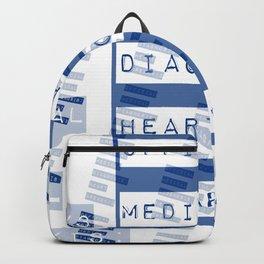 HEART</3BREAK blue Backpack