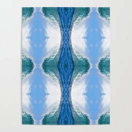 Sea waves, Poster
