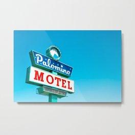 Palomino Motel Metal Print