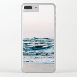 Sea Water Flow Clear iPhone Case