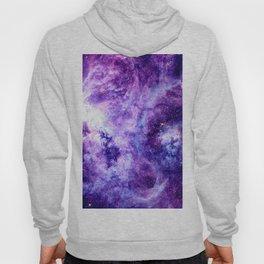 Purple Lavender Gold Tarantula Nebula Hoody