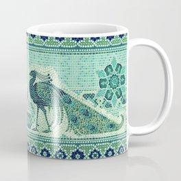 Peacocks Mosaic Coffee Mug