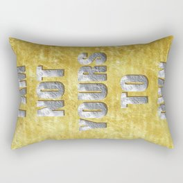 ART THEFT 02 Rectangular Pillow