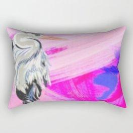 Heron at Sunset Rectangular Pillow