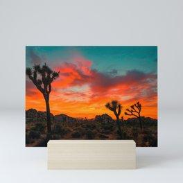 Joshua Tree Parc National Mini Art Print
