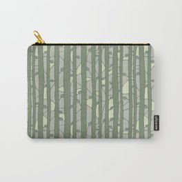 Into The Woods green Carry-All Pouch