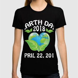 Earth day 2018 Shirt - support science save world T-shirt
