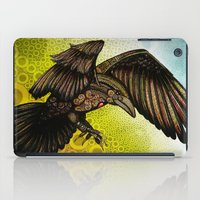 raven iPad Cases featuring Raven by Alohalani