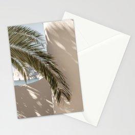 Mediterranean Spain Travel Palm Leaf Stationery Cards