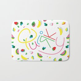 Quirky Pattern Bath Mat