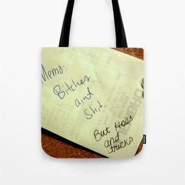MEMO: Tote Bag