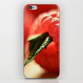 Raspberry iPhone Skin