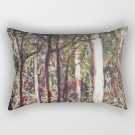 The Australian forest Rectangular Pillow