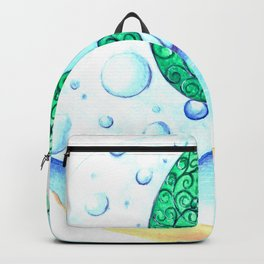 Sea and sky Backpack