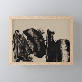Mono 5 Framed Mini Art Print