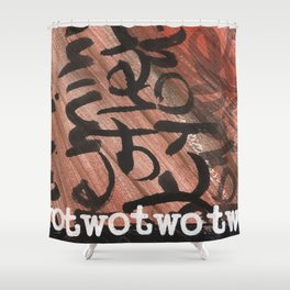 TwoTwo Shower Curtain
