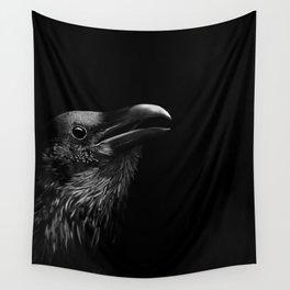 Dark Raven Wall Tapestry