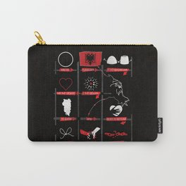 National Anthem of Albania Carry-All Pouch