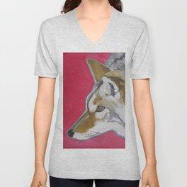Coyote Unisex V-Neck