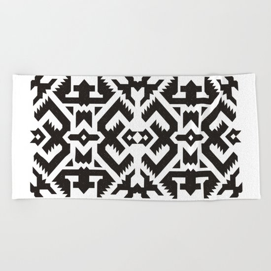 Aztec ~1 Beach Towel