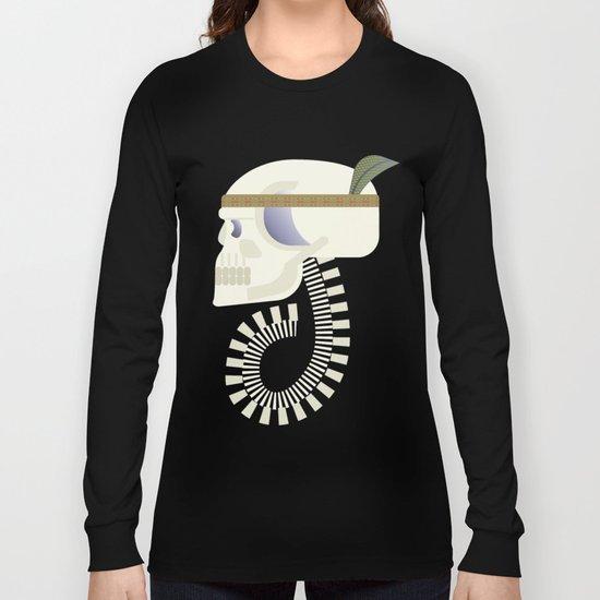 Indie G skull Long Sleeve T-shirt